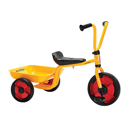 Winther Duo Tricycle With Tray, Red/Yellow/Black