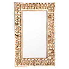 Zuo Modern Mini Circles Rectangular Mirror