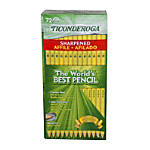 Ticonderoga 2 Pencils 07 mm Yellow
