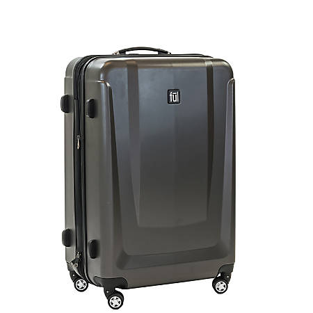 """ful Load Rider ABS Expandable Upright Rolling Suitcase, 29""""H x 20 1/2""""W x 11 1/2""""D, Black"""