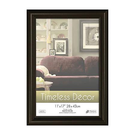 Timeless Frames Boca Wall Frame 11 X 17 Glossy Black By Office Depot