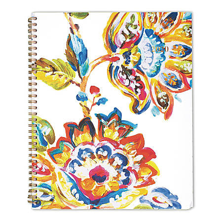 "Cambridge® Hannah Weekly/Monthly Planner, 8-1/2"" x 11"", Multicolor, January to December 2020, 1161-905"