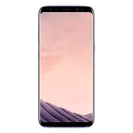 Samsung Galaxy S8 G950U Refurbished Cell Phone, Orchid Gray, PSC100817