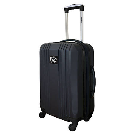 "Denco Sports Luggage Expandable Briefcase With 13"" Laptop Pocket, Oakland Raiders, Black"
