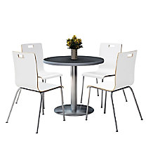 KFI Studios Jive Round Pedestal Table