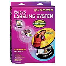 Avery Stomper Pro InkjetLaser CD Label