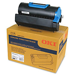Oki 3612819 Black Toner Cartridge