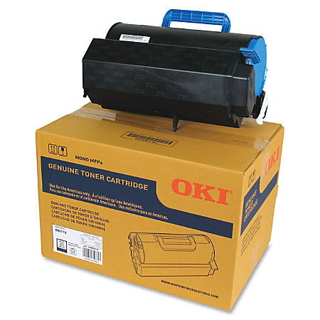 Oki 3612821 Extra-High Capacity Black Toner Cartridge