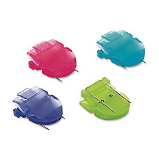 Advantus Panel Wall Clips Assorted Colors