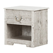 South Shore Aviron 1 Drawer Nightstand
