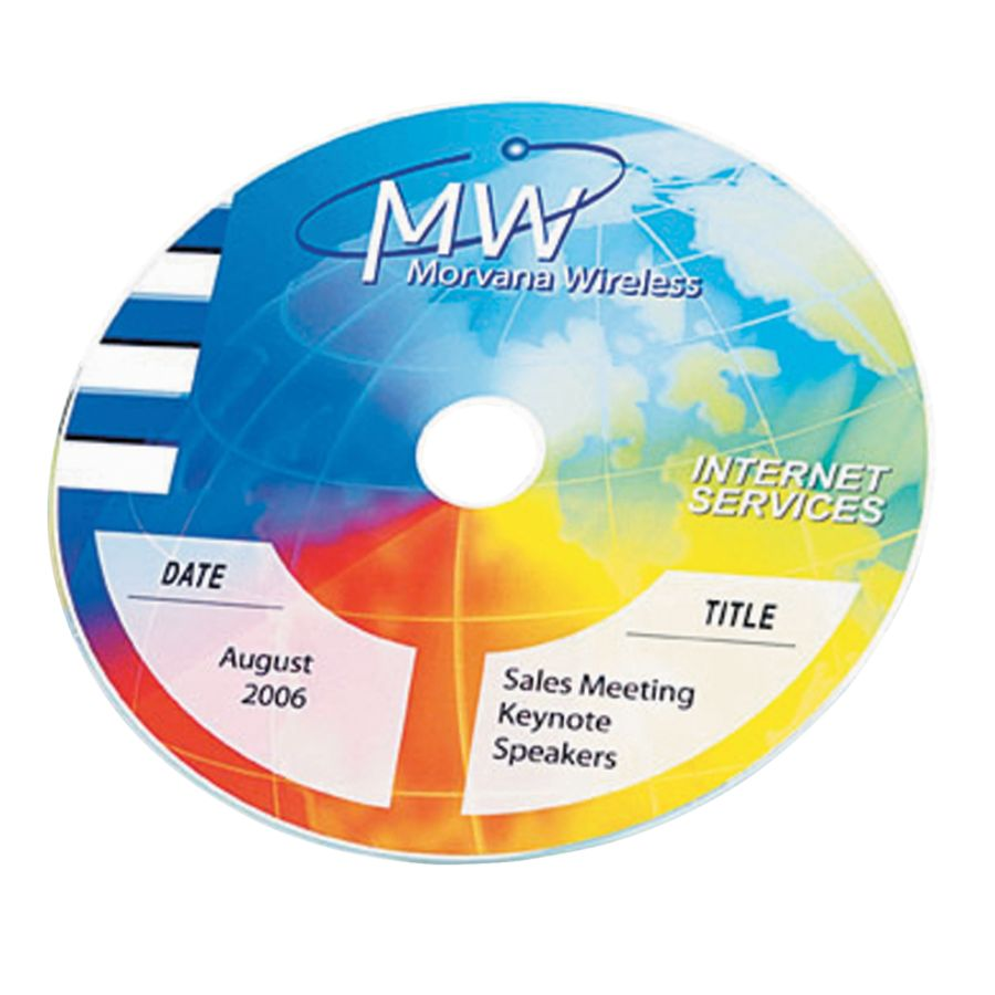 graphic about Printable Cd Labels referred to as Avery® Entire Confront Long-lasting Inkjet CD Labels, 8960, 4 1/2\