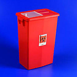 SharpSafety Large Volume Sharps Container 18