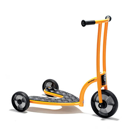 """Winther Circleline Safety Roller Scooter, 30 3/4""""H x 18 15/16""""W x 31 15/16""""D, Orange"""