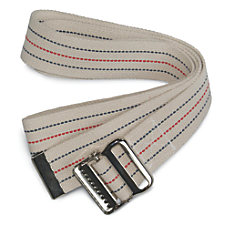Medline Washable Cotton Gait Belt Up