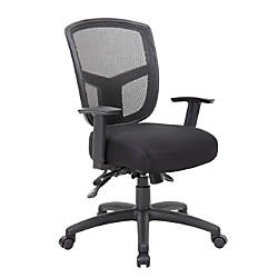 Boss Office Products Contract Mesh Mid