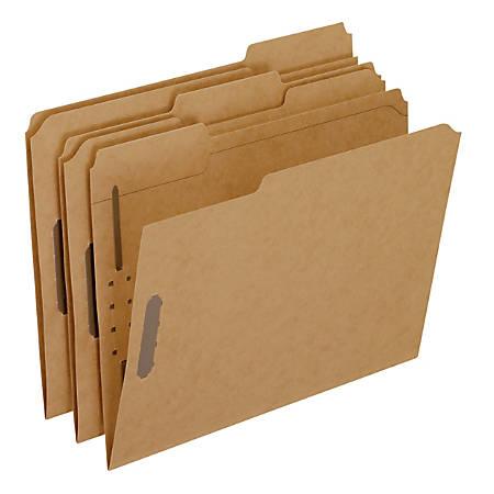 Pendaflex® Kraft Rec Classification Folders With Fasteners, Letter Size, Box Of 50