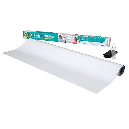 Post-it® Flex Write Surface, 6' x 4', White
