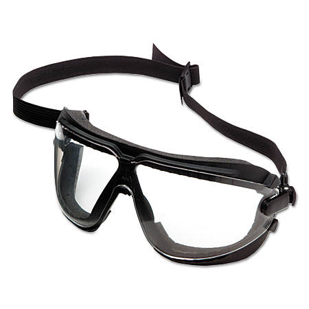 GoggleGear for Lexa, Large, Clear/Black Strap
