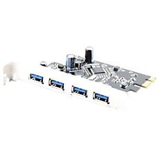 Sabrent USB 30 4 port PCI
