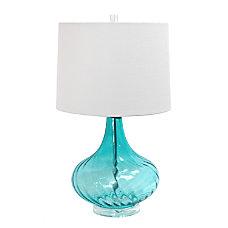 Elegant Designs Glass Table Lamp 24