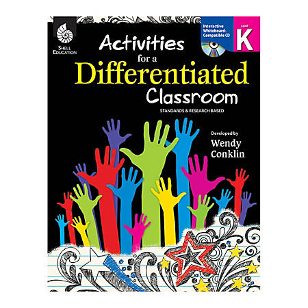 Shell Education Activities For A Differentiated Classroom, Grade K