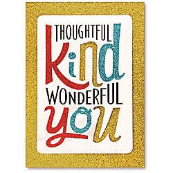 Viabella Thank You Greeting Card Wonderful
