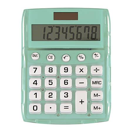 Ativa® 8-Digit Desktop Calculator, DD-611-MINT