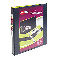 Avery 2 Tone Durable View Binder