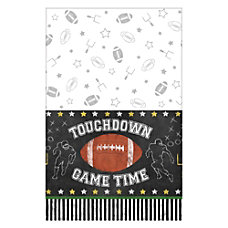 Amscan Football Game Time Plastic Table