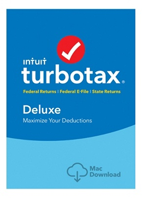 Turbotax deluxe fed efile state 2018 mac download version by.