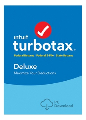 TurboTax® Deluxe Fed + E-File + State 2018, Windows Download Item # 7980880