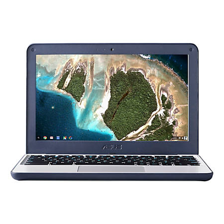 "ASUS® Chromebook Laptop, 11.6"" Screen, Intel® Celeron® N3060, 4GB Memory, 16GB eMMC, Chrome OS"