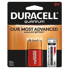 Duracell Quantum Alkaline 9 Volt Battery
