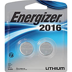 Energizer 2016 3V WatchElectronic Batteries Lithium