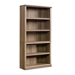 Sauder Select Bookcase 5 Shelf Salt
