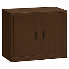 HON 10500 Series Storage Cabinet Mocha