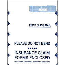 CMS Health Insurance Jumbo Envelopes Box