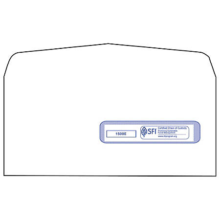 CMS Health Insurance Window Envelopes, Box Of 500