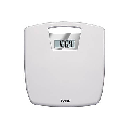 Taylor 7048 Digital Medical Scale - 350 lb - Silver