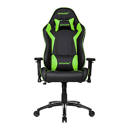 AKRacing Core Series SX Faux Leather Gaming Chair, Green