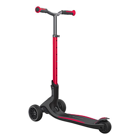 "Globber Ultimum 3-Wheel Scooter, 29-15/16""H x 15-9/16""W x 39-3/4""D, Red"