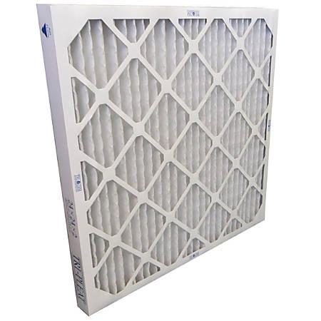 "Tri-Dim HVAC Air Filters, Merv 8, Antimicrobial, 20""H x 2""W x 20""D, Pack Of 12 Filters"