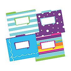 Barker Creek Tab File Folders 8