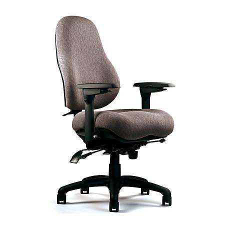 """Neutral Posture® 8600 High-Back Ergo Chair, 42""""H x 26""""W x 26""""D, Light Gray"""