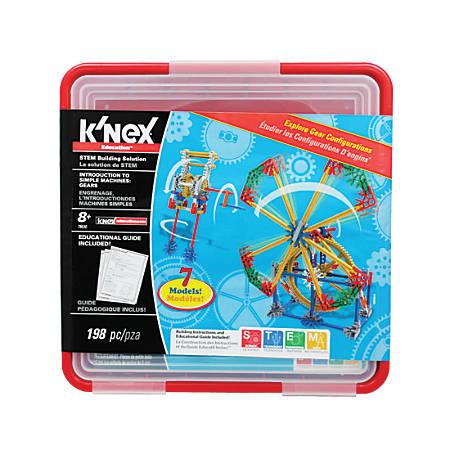 K'NEX® Education Gears Set, Grades 3-5