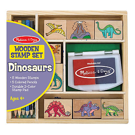 Melissa & Doug Stamp Craft Set, Dinosaurs