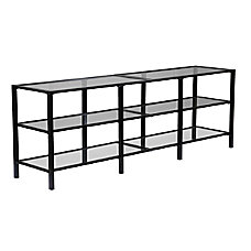 Southern Enterprises Tyler MetalGlass Media Stand