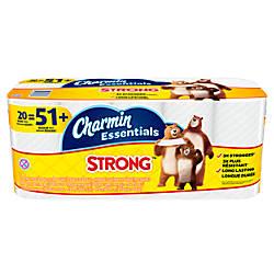 Charmin Essentials Strong 1 Ply Bathroom