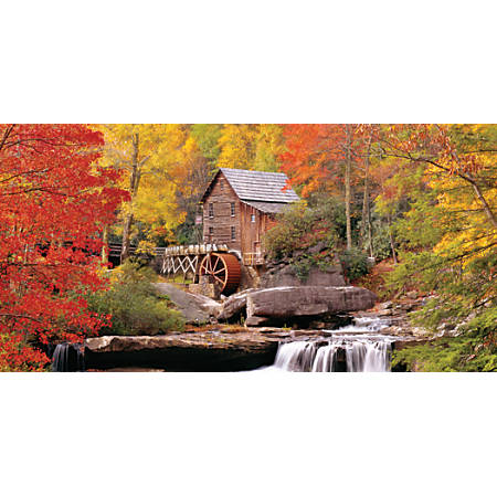 "Biggies Wall Mural, 27"" x 54"", Waterwheel"