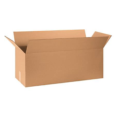 "Office Depot® Brand Corrugated Cartons, 32"" x 12"" x 12"", Kraft, Pack Of 20"